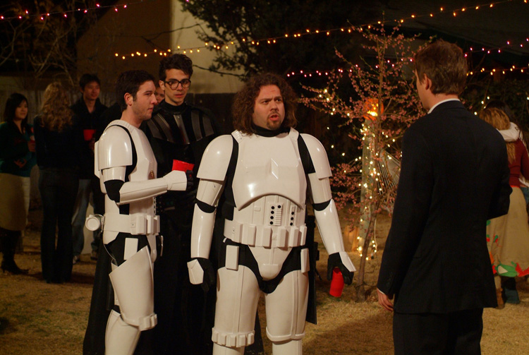 Fanboys som Stormtroopers. Photo Courtesy; SF Film