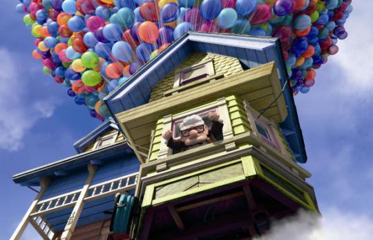 """Hr. Frederiksen på vej mod eventyr i Disney/Pixars nye film """"OP""""."""