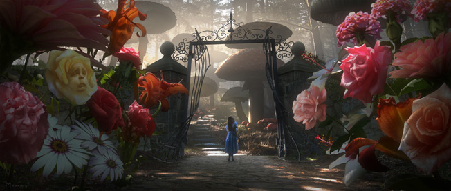 Alice In Wonderland - nu i 3D. FOTO Disney.