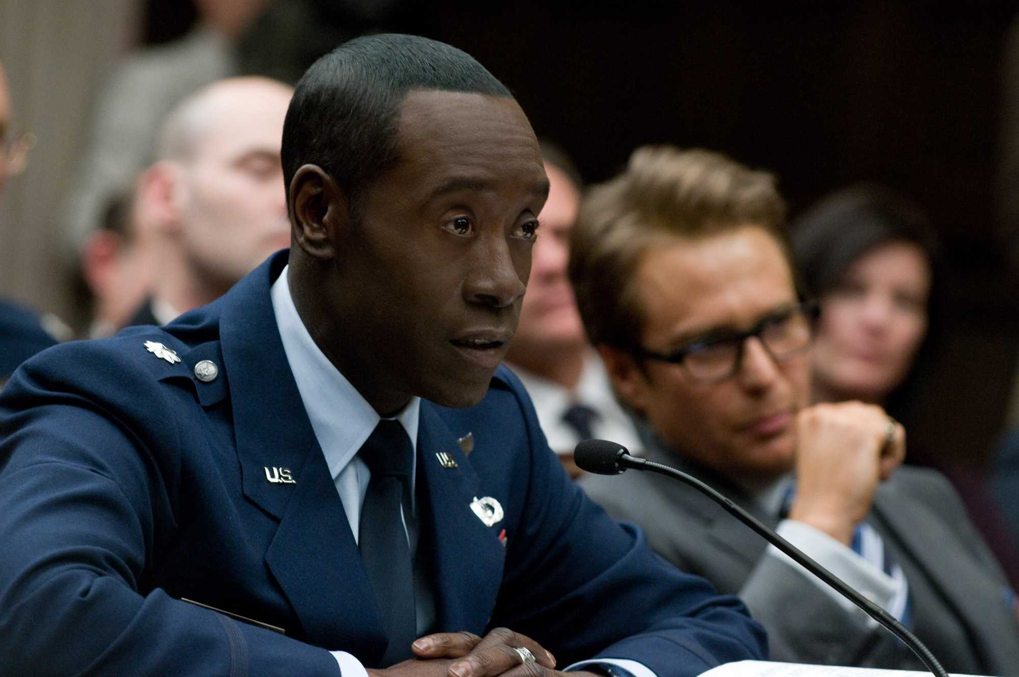 Don Cheadle og Sam Rockwell