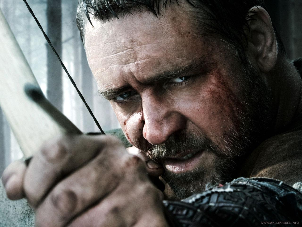 Russell Crowe aka Maximus aka Robin Hood