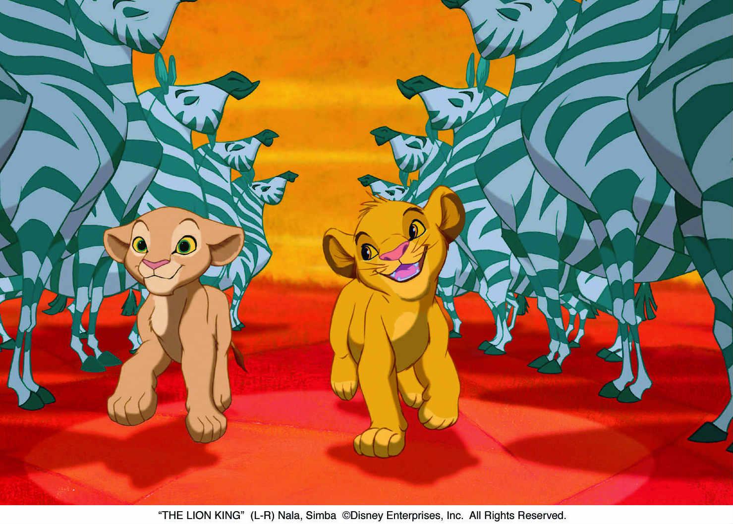 løvernes konge in ril life