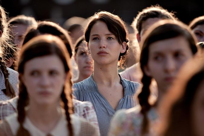 Katniss er en i flokken. Det kan du også være - en i flokken af biografsultne vindere! Photo Courtesy Nordisk Film Distribution.