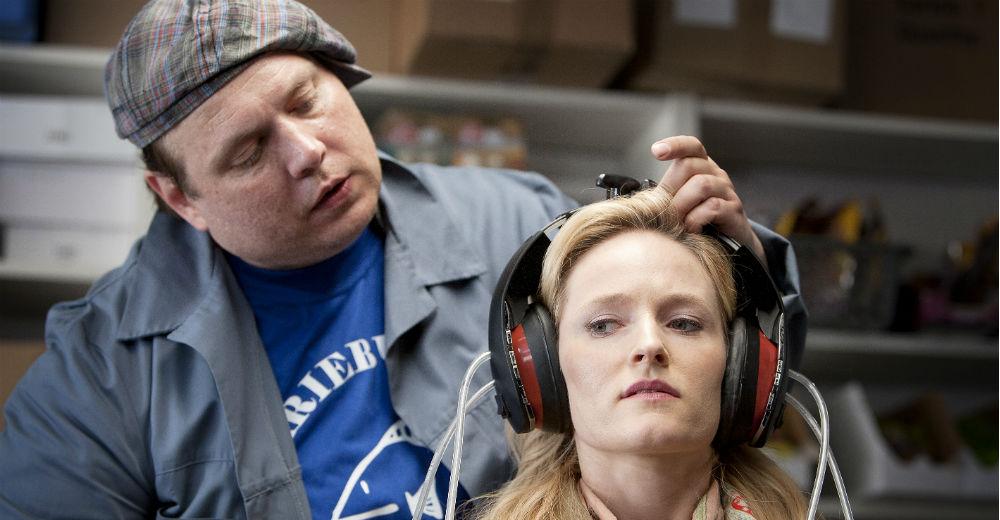 Nicolas Bro og Mille Lehfeldt i Talenttyven. Photo Courtesy of SF Film.