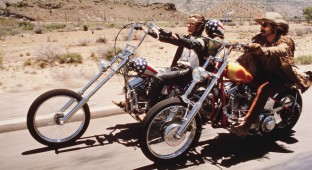 Kultfilmen Easy Rider fra 1969