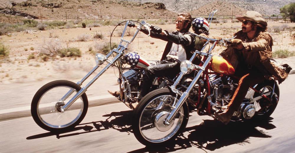 Kultfilmen Easy Rider fra 1969