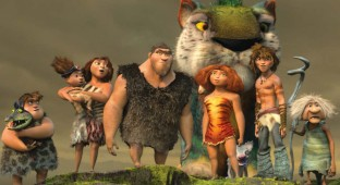 Familien Croods. Photo Courtesy of 20th Century Fox