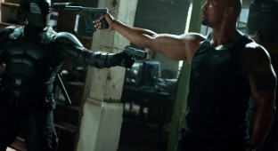 G.I. Joe: Retaliation - The Rock vs. Ninja