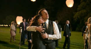 Nat (Rose Bryne) og Josh (Rafe Spall). Photo Courtesy of SF Film Distribution