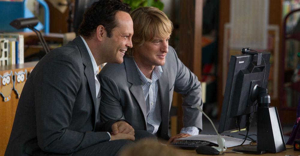 Vince Vaughn og Owen Wilson i The Intership. Photo Courtesy of Fox Film.