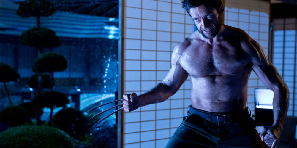 "Hugh Jackman i en film, der godt kunne have været kaldt ""Wolverine does Japan"". Photo Courtesy of SF/Fox"