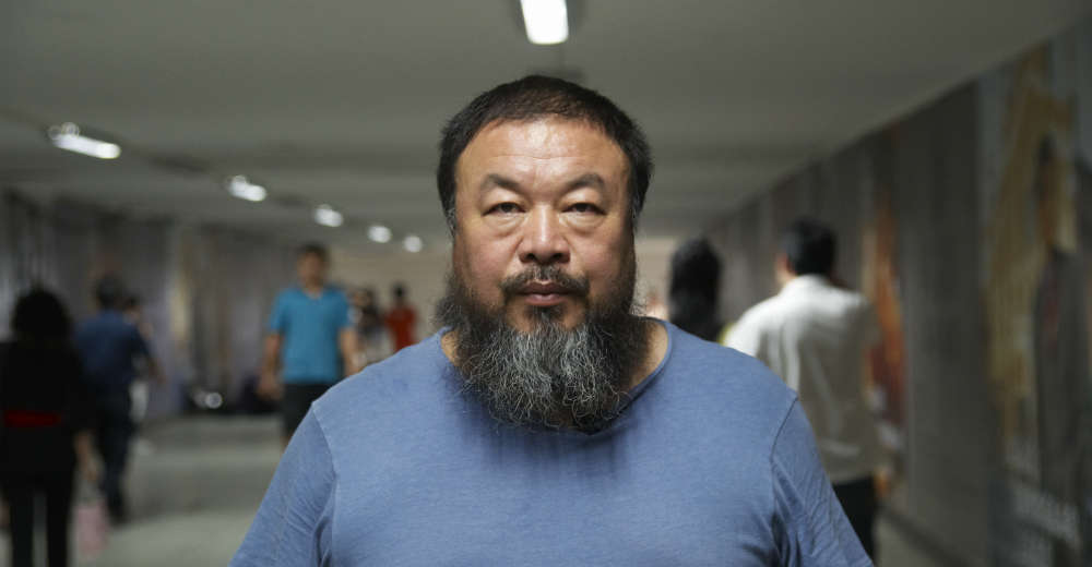 Ai Weiwei. Photo Courtesy of Andreas Johnsen film distribution