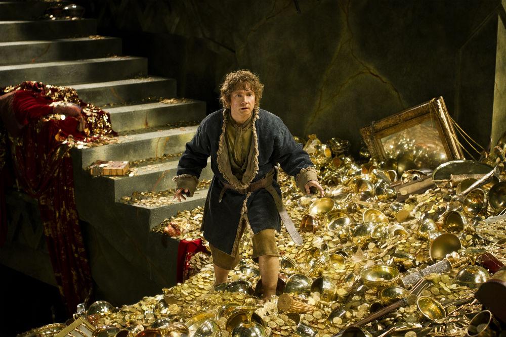 Martin Freeman som Bilbo Baggins. Photo Courtesy of SF Films.