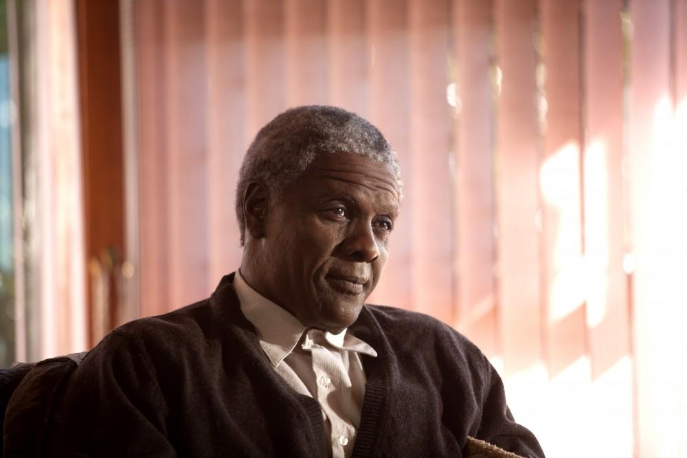 Idris Elba som en ældre udgave af Nelson Mandela. Copyright: Scanbox