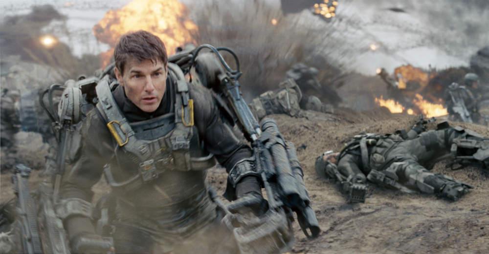 Tom Cruise i action og sci-fi filmen Edge of Tomorrow. Photo courtesy of Warner Bros. Distribution