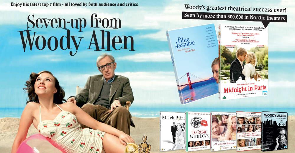 Konkurrence. Du har mulighed for at vinde Woody Allens 7 sidste film på dvd. Photo Courtesy of Scanbox Entertainment.