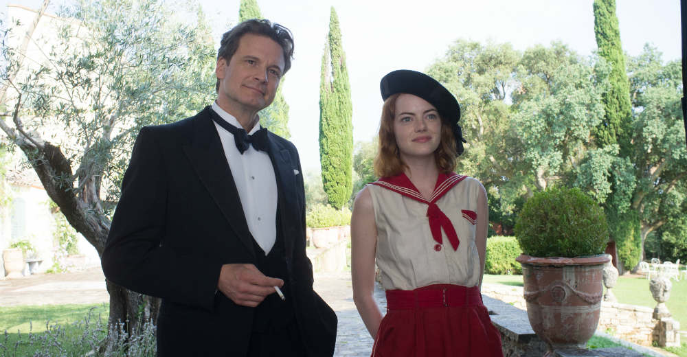 Colin Firth og Emma Stone i Woody Allens seneste film MAGIC IN THE MOONLIGHT. Photo courtesy of Scanbox Entertainment.