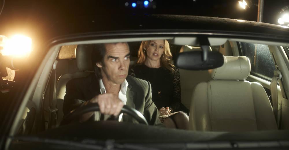 Nick Cave og Kylie Minogue i Nick Cave: 20.0000 Dage på jorden. Photo courtesy of Camera Film.