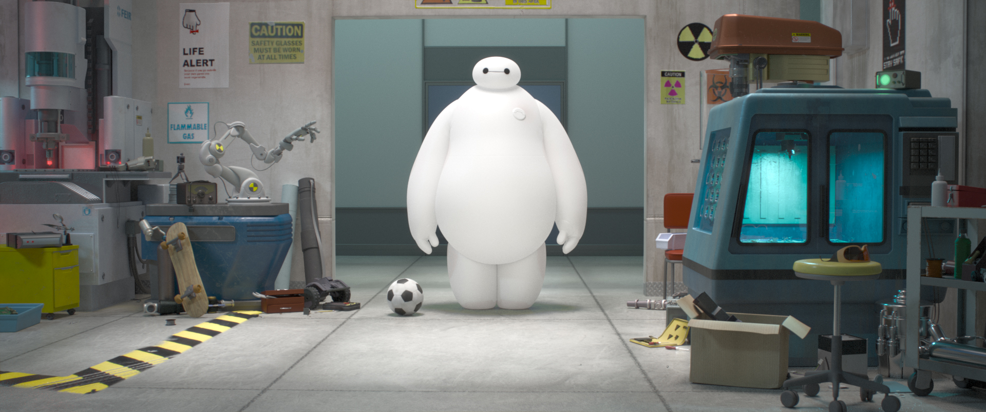 BIG HERO 6. Photo Courtesy of Disney.