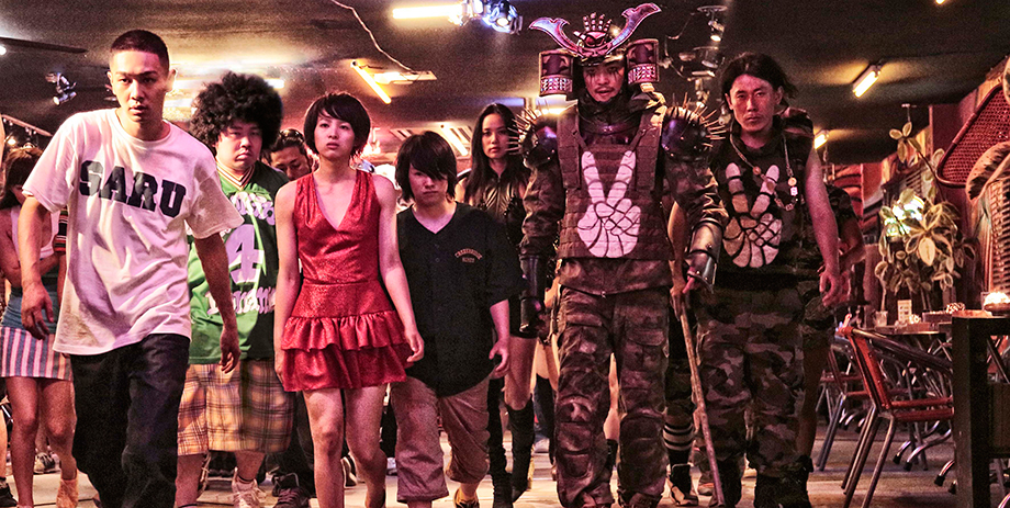 Et glimt af galskaben i 'Tokyo Tribe'