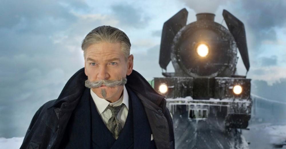 Kenneth Branagh som detektiv Hercule Poirot i 'Mordet i Orientekspressen'