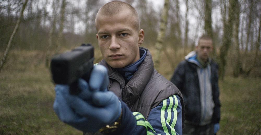 Gustav Dyekjær Giese som Casper i NORDVEST. Copyright Nordisk Film